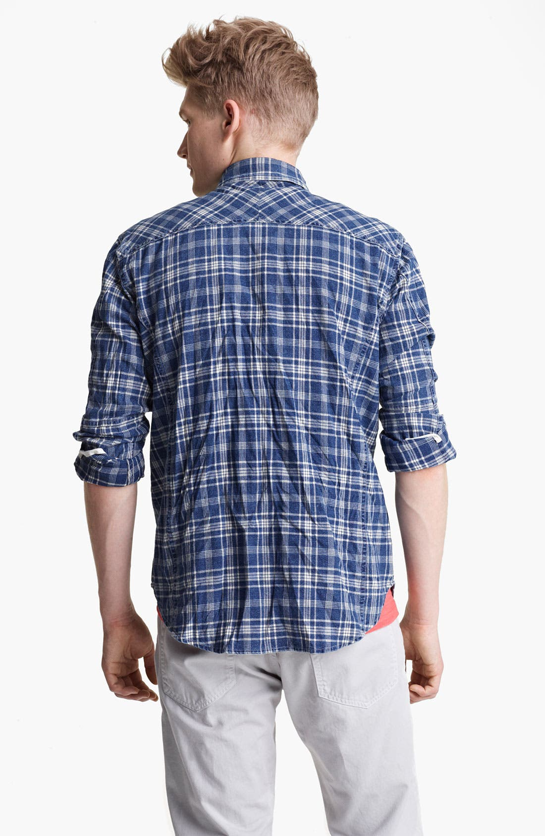 Alternate Image 2  - rag & bone 'Trail' Plaid Woven Shirt