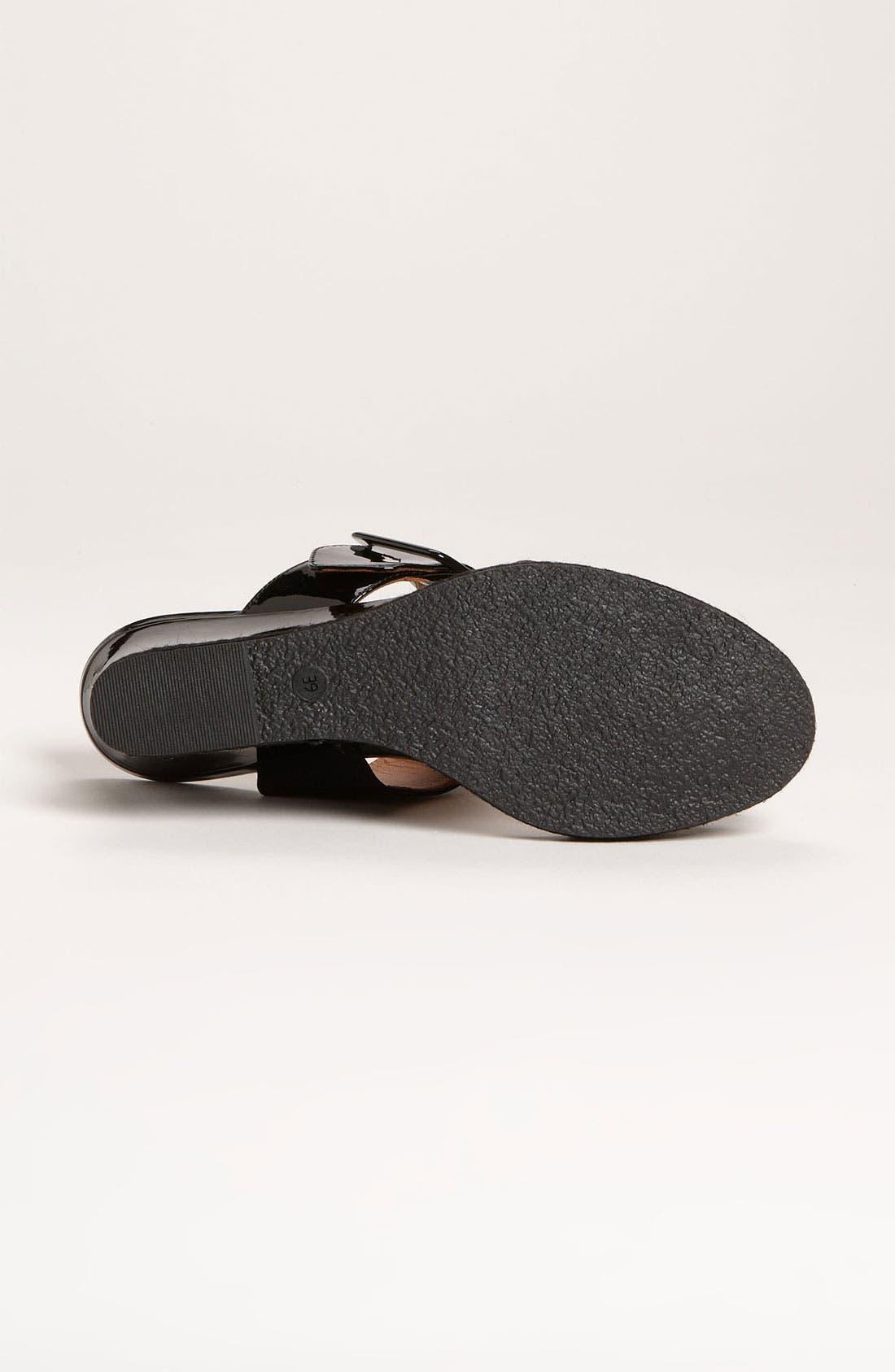Alternate Image 4  - Fendi 'Vernis' Wedge Sandal (Women)