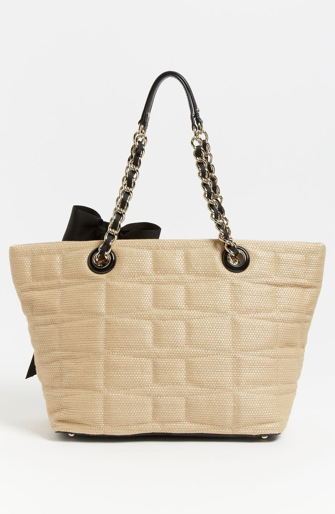 Alternate Image 4  - kate spade new york 'signature spade - small coal' shoulder bag