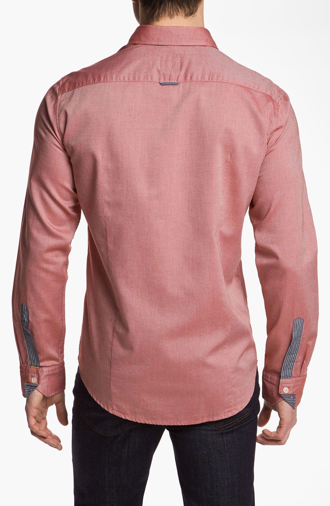 Alternate Image 2  - BOSS Orange Oxford Woven Shirt