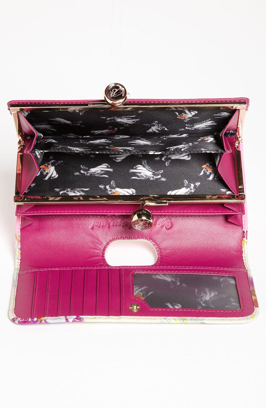 Alternate Image 3  - Ted Baker London 'Treasured Orchid Crystal Bobble' Matinee Wallet