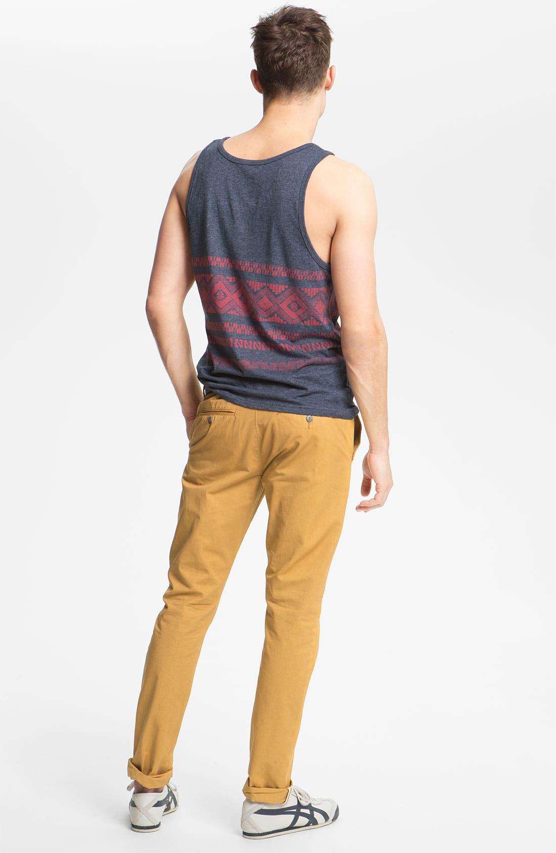 Alternate Image 5  - Obey 'Classique' Slim Straight Leg Chinos