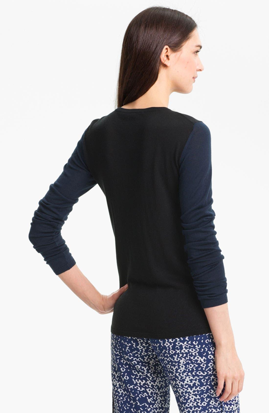 Alternate Image 2  - Diane von Furstenberg 'Alex' Silk & Cashmere Sweater