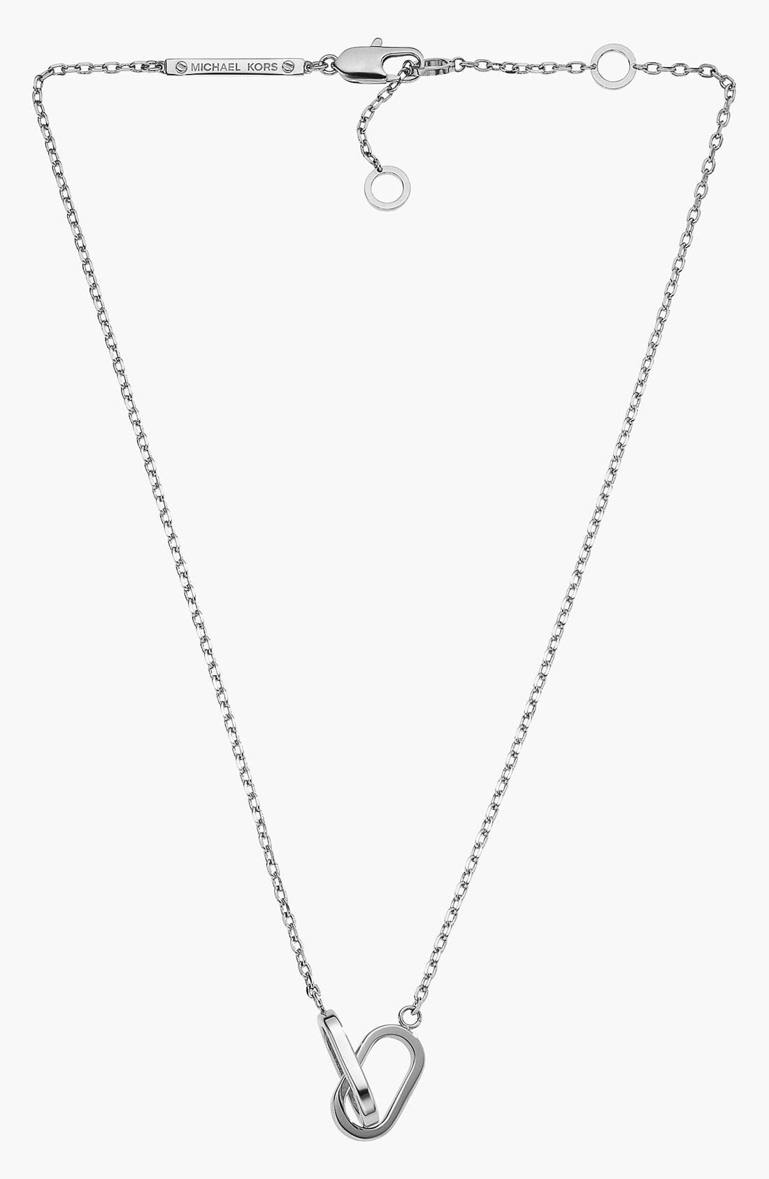 Alternate Image 1 Selected - Michael Kors 'Status' Link Necklace