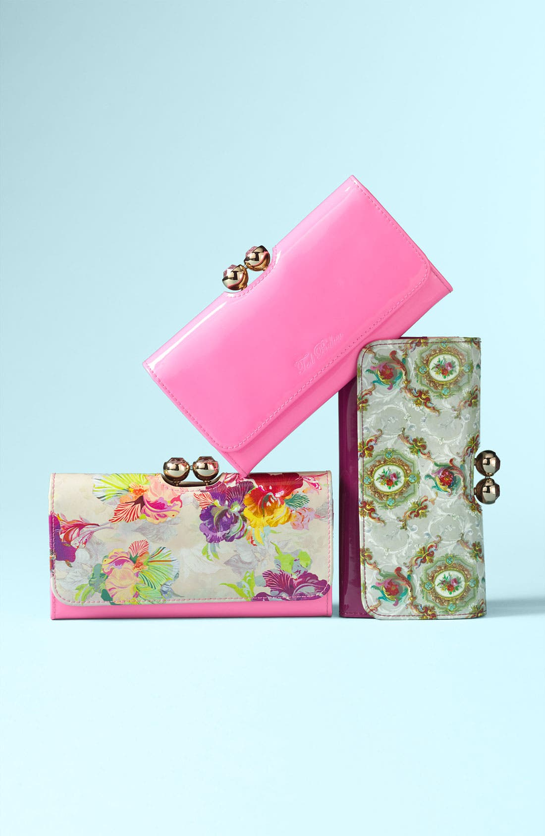 Alternate Image 5  - Ted Baker London 'Baroque Deco Crystal Bobble' Matinee Wallet