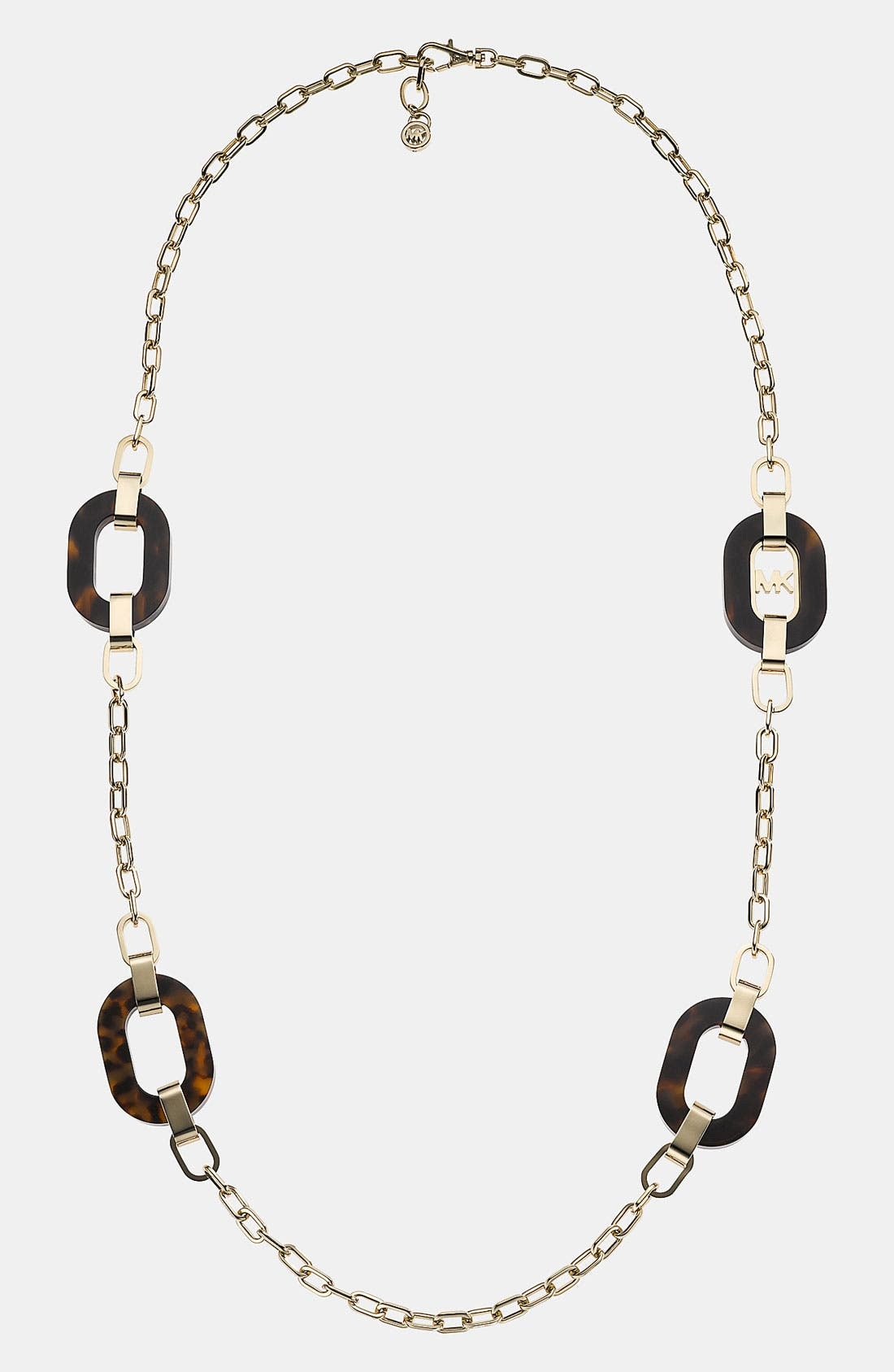 Alternate Image 1 Selected - Michael Kors 'Jet Set' Long Station Necklace