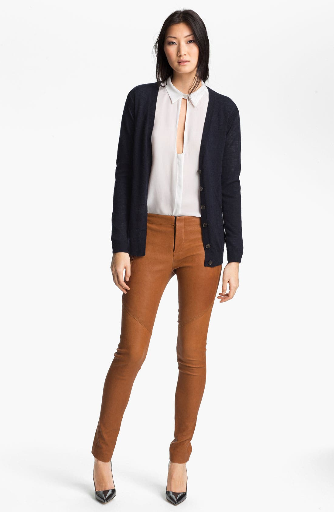 Alternate Image 6  - A.L.C. Leather Pants