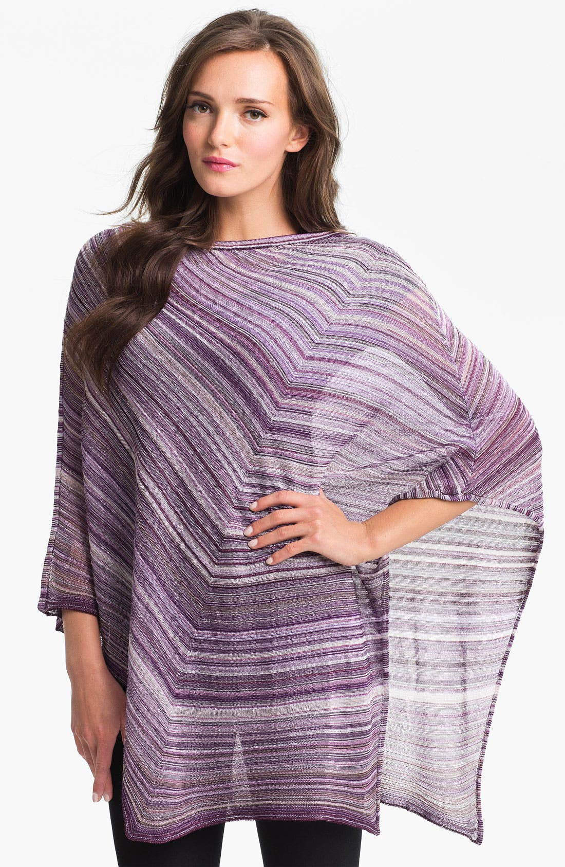 Main Image - Missoni Diagonal Stripe Poncho
