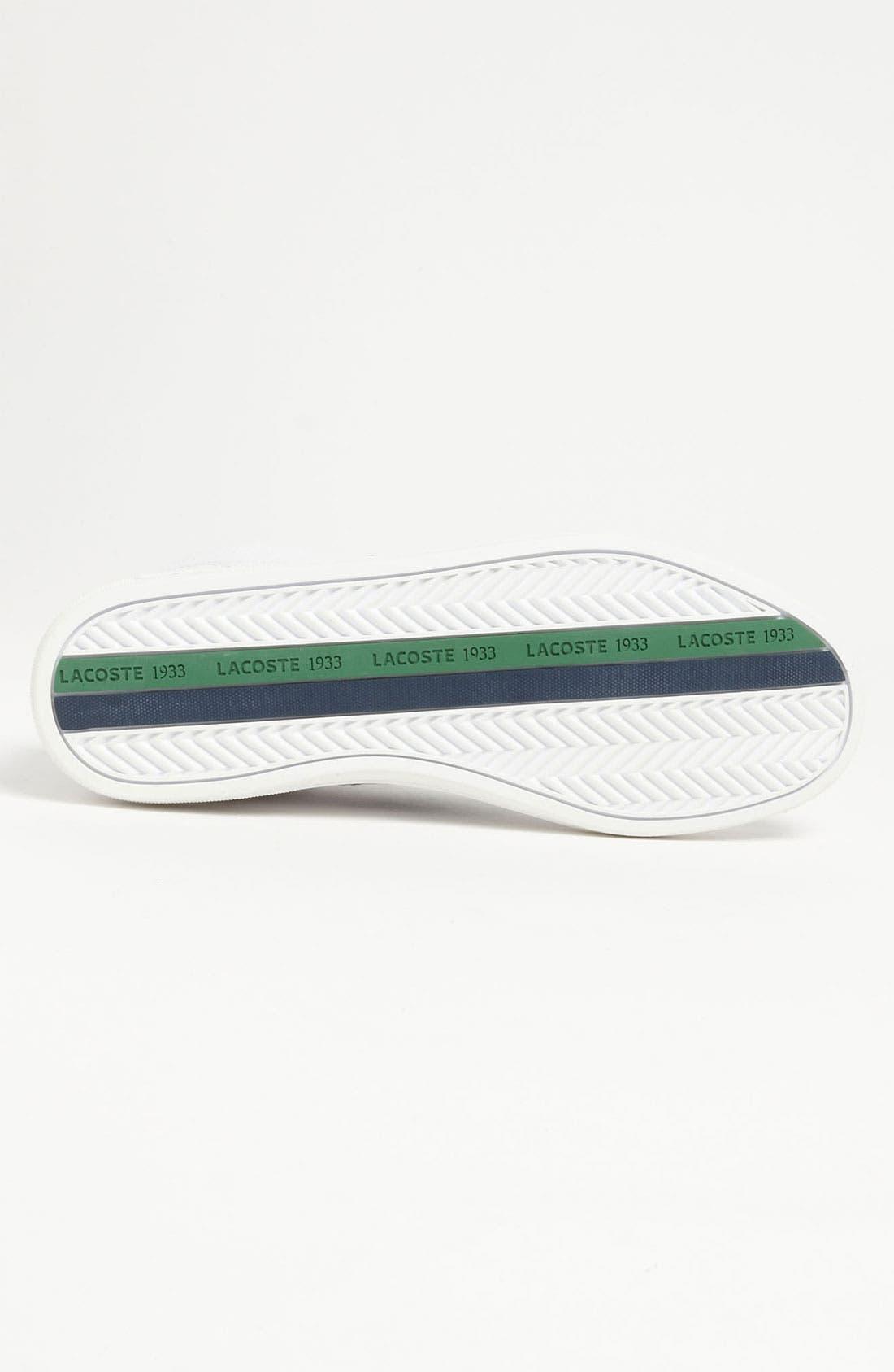 Alternate Image 4  - Lacoste 'Europa CRE' Sneaker