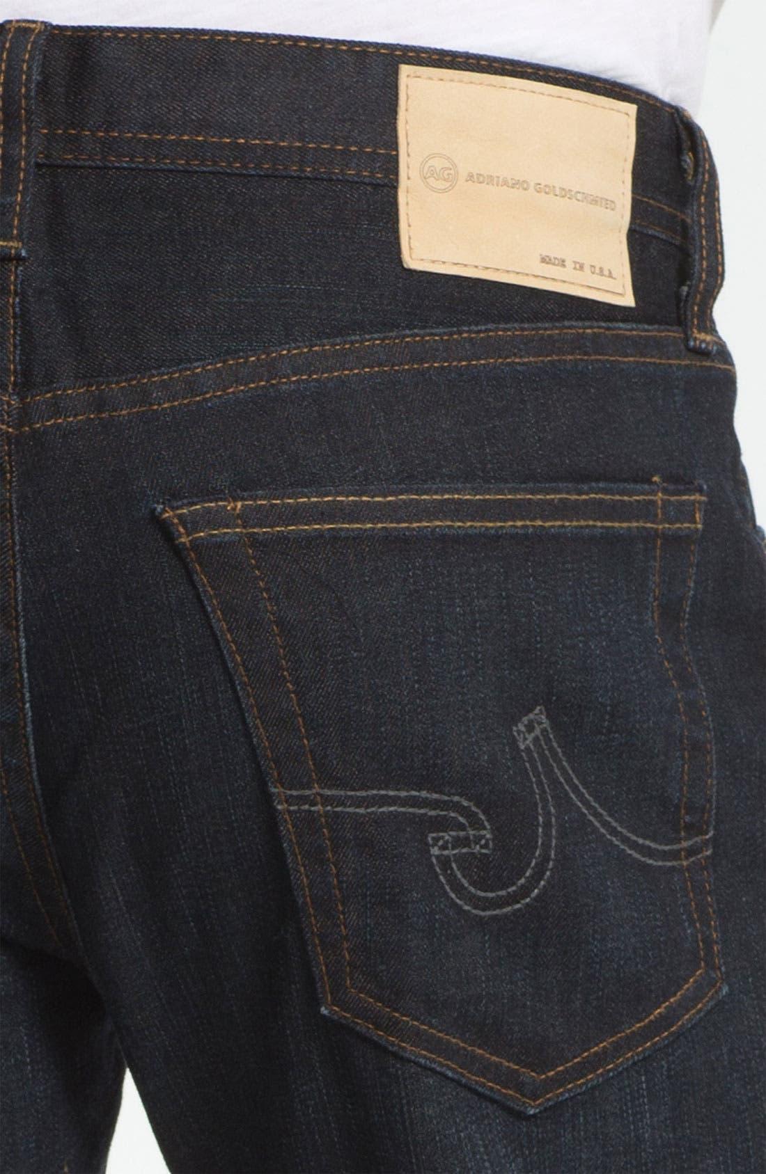 Alternate Image 4  - AG 'Protégé' Straight Leg Jeans (Two Year Matte)