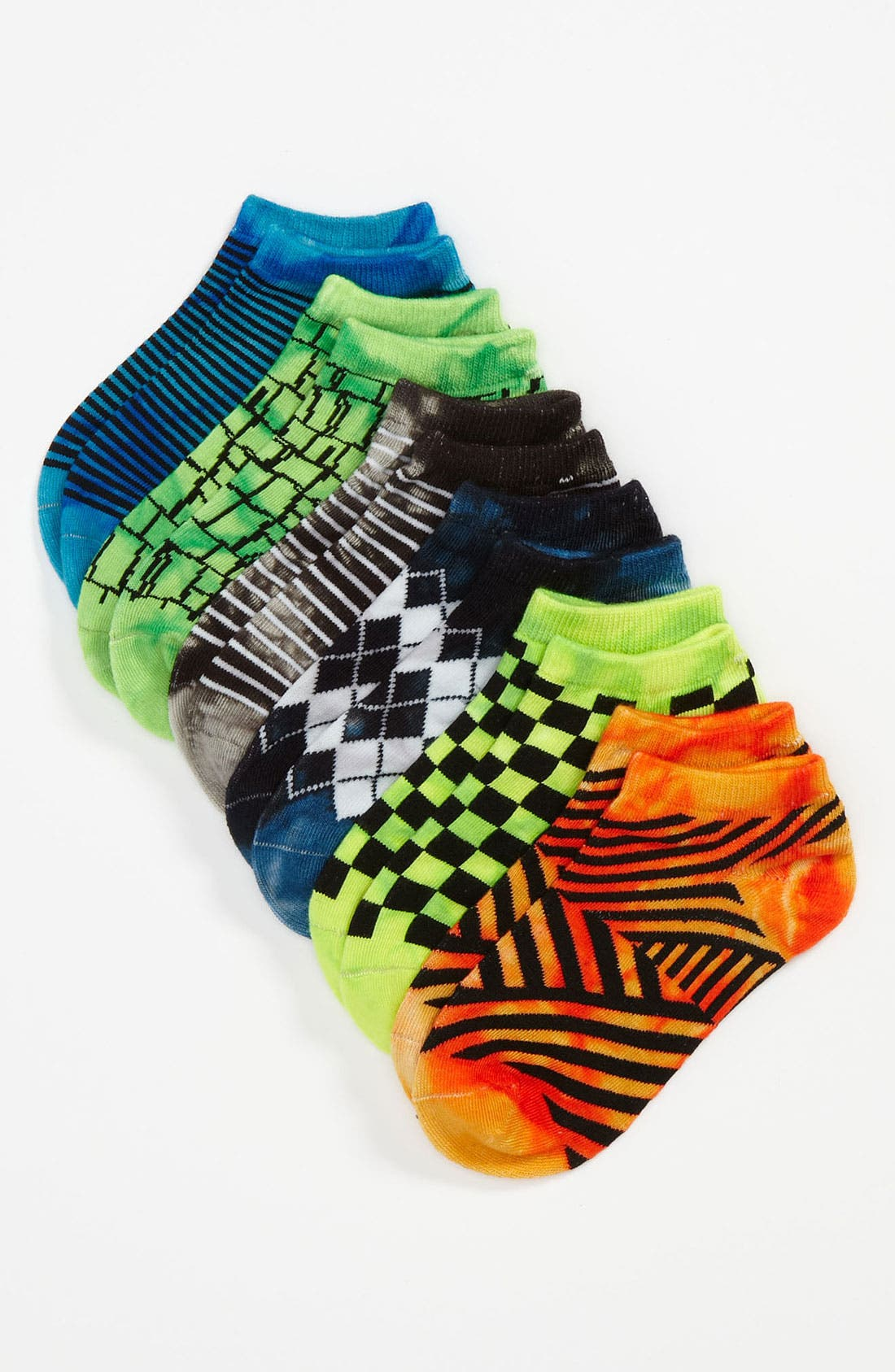 Alternate Image 1 Selected - Nordstrom 'Pop Mix' Socks (6-Pack) (Kids)