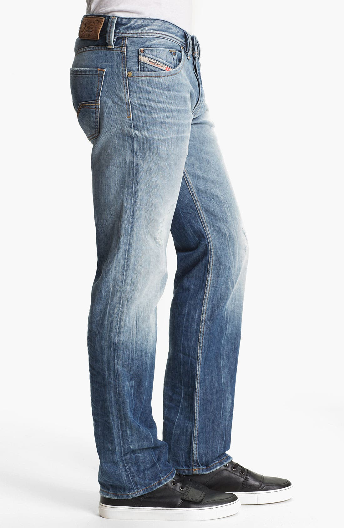 Alternate Image 3  - DIESEL® 'Larkee' Straight Leg Jeans (0810N)