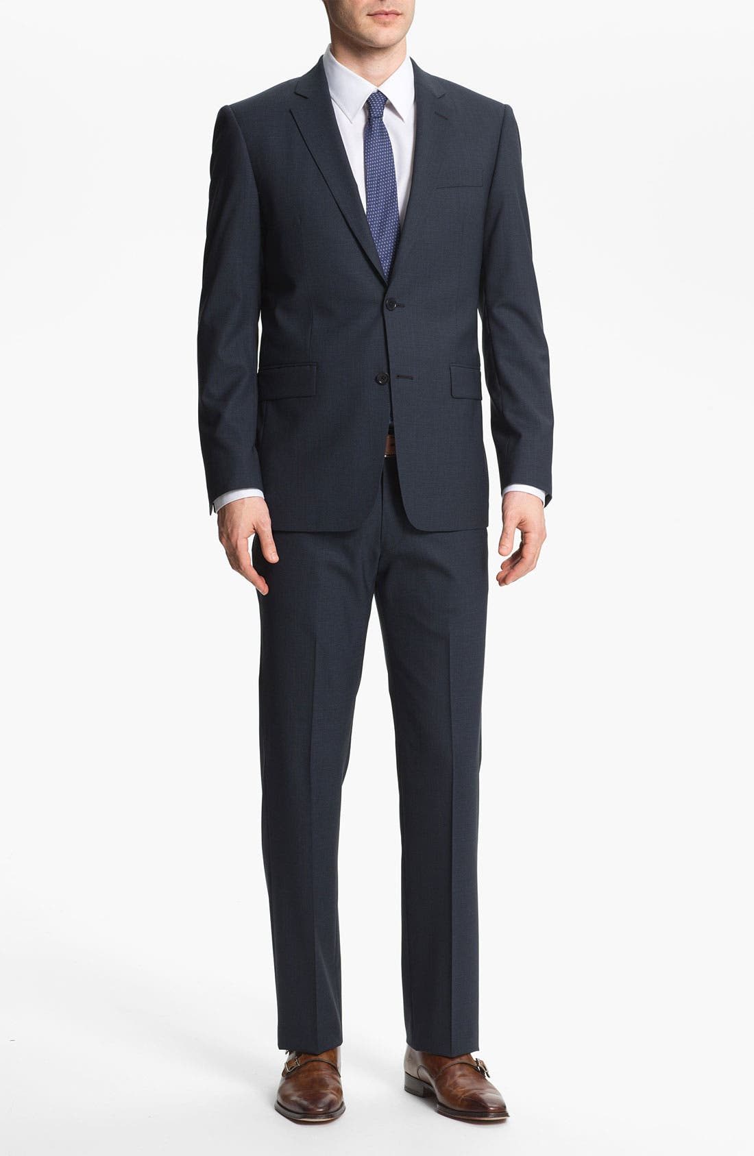 Alternate Image 2  - John Varvatos Star USA 'Filmore' Trim Fit Wool Suit