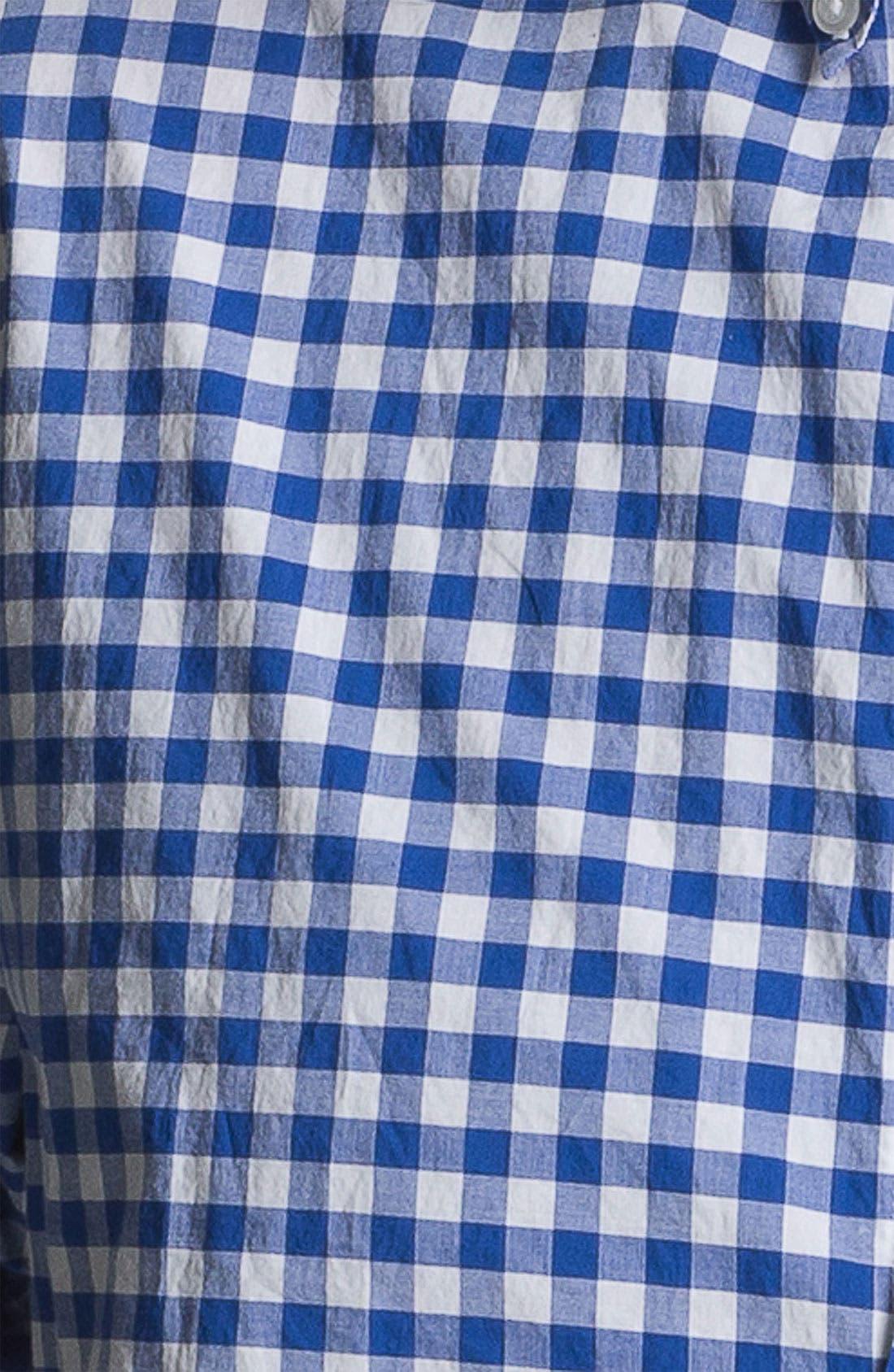 Alternate Image 3  - Bonobos Gingham Standard Fit Sport Shirt