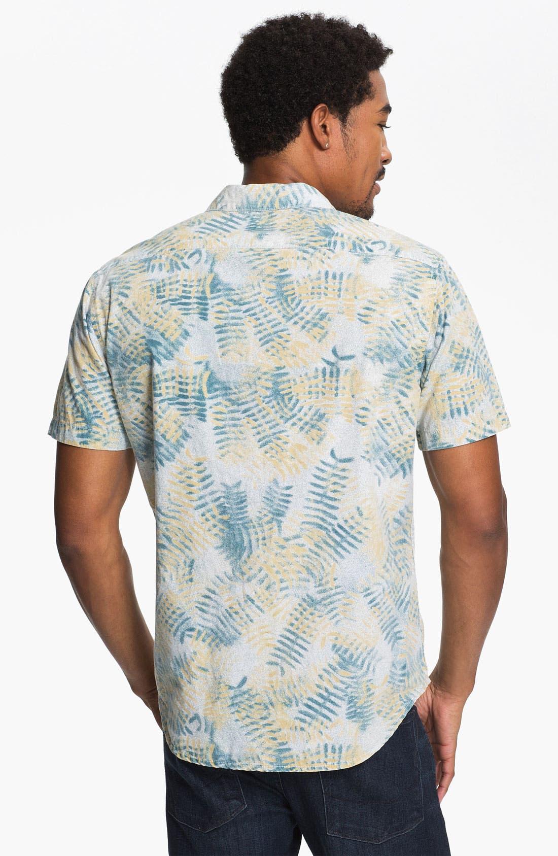 Alternate Image 3  - RVCA 'Fern N Burn' Woven Shirt