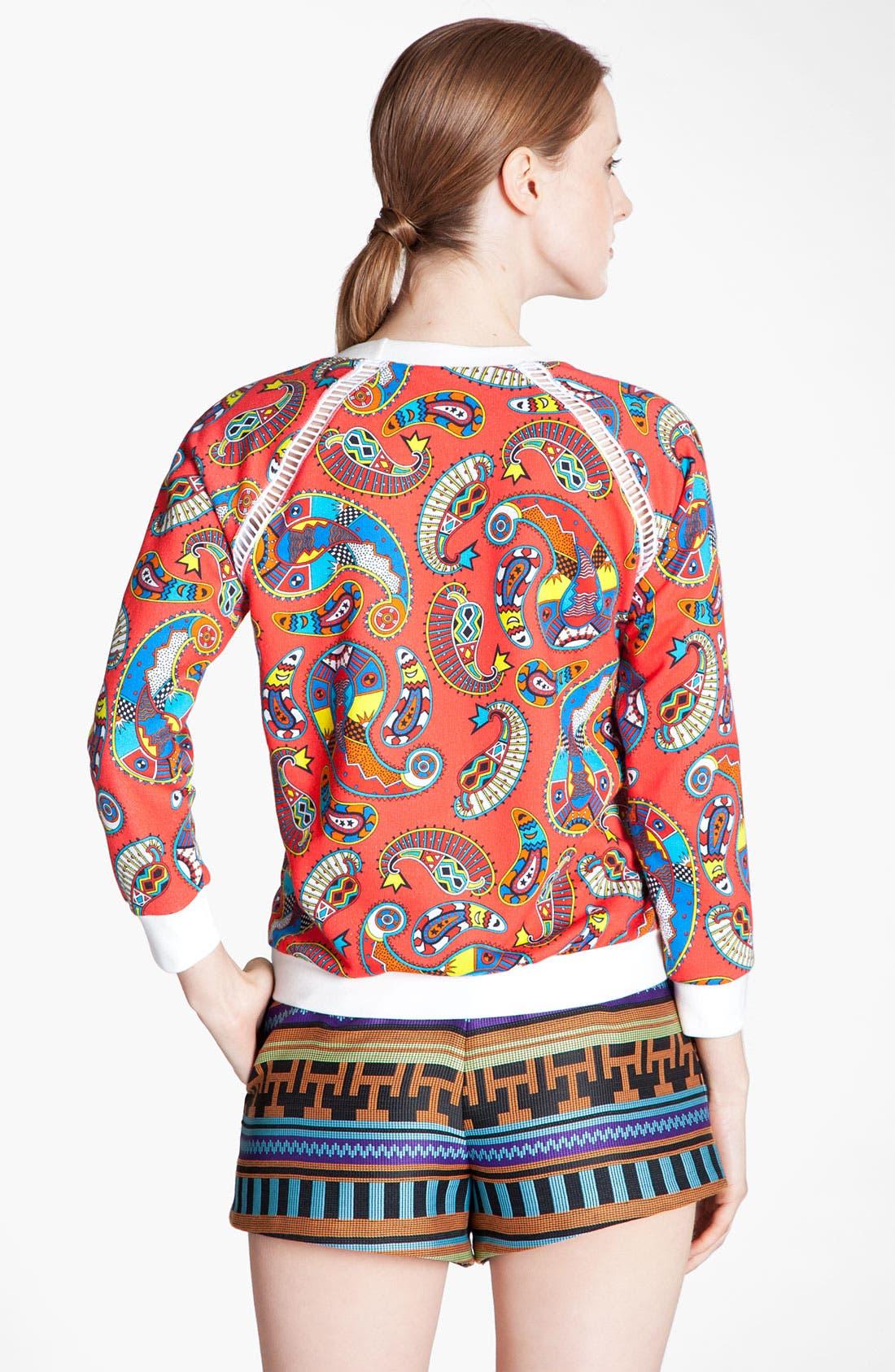 Alternate Image 3  - MSGM 'Paisley Memphis Print' Sweatshirt