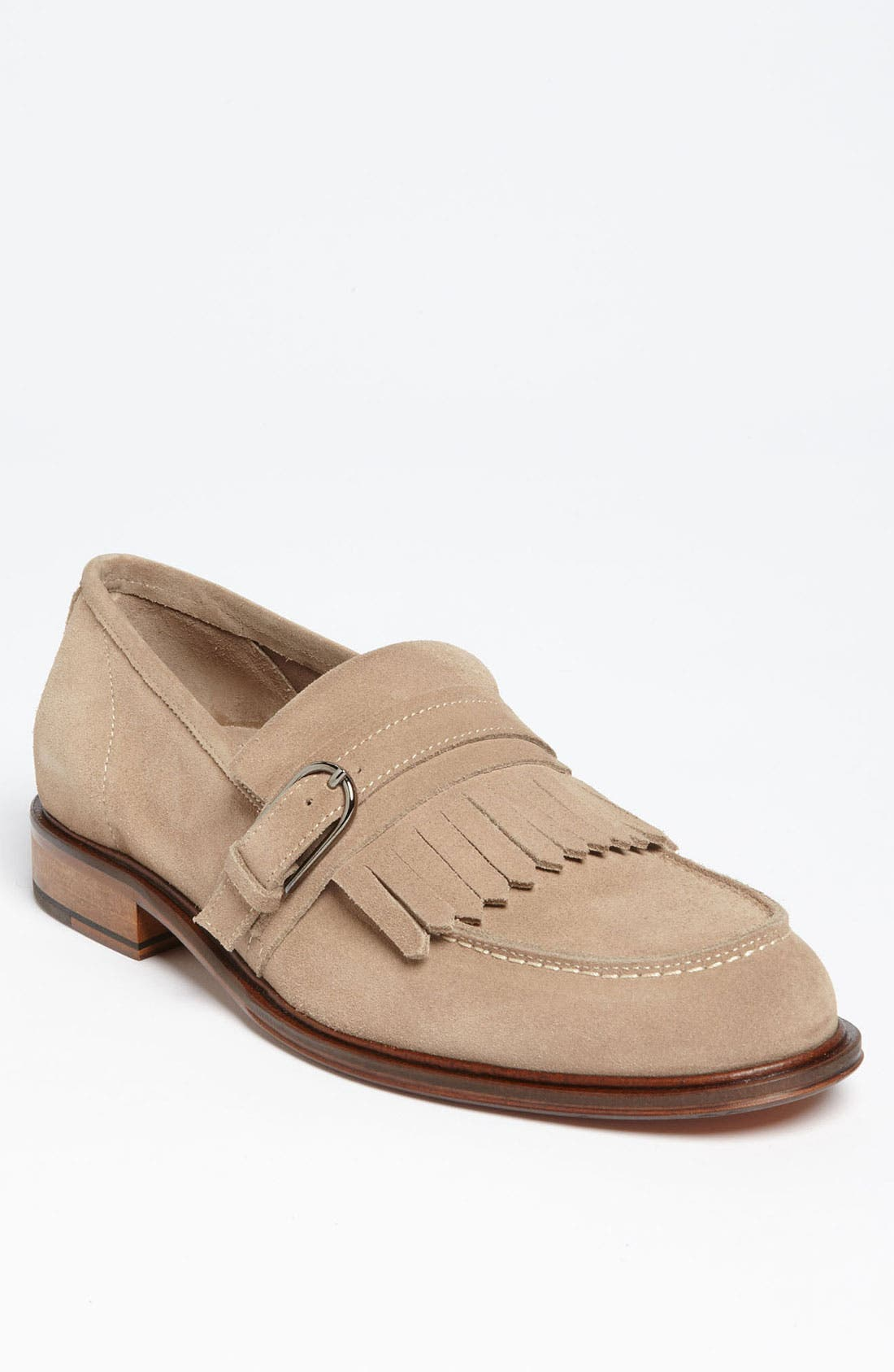 Alternate Image 1 Selected - Bruno Magli 'Pardo' Kiltie Loafer