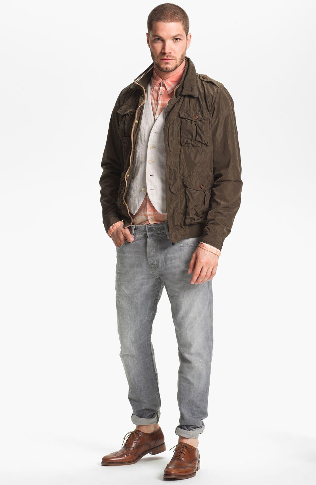 Alternate Image 5  - Scotch & Soda 'Ralston' Slim Straight Leg Jeans (Stoner)