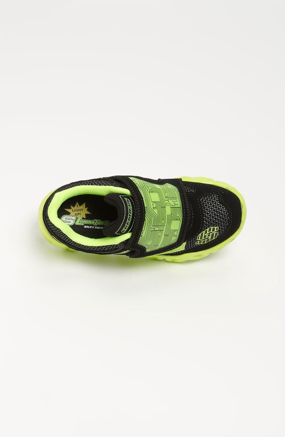 Alternate Image 3  - SKECHERS 'S Lights - Datarox' Light-Up Sneaker (Toddler & Little Kid)