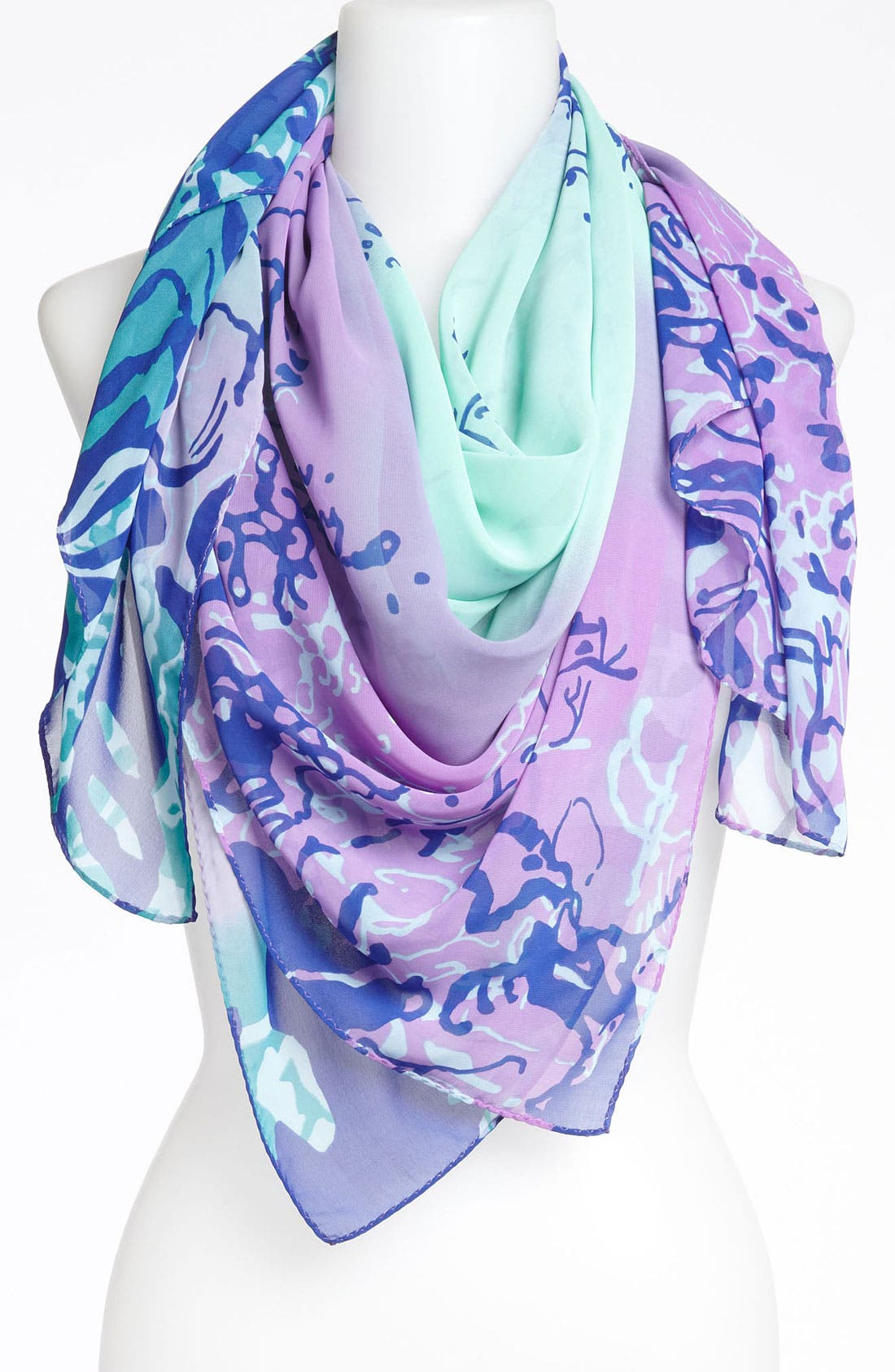 Alternate Image 1 Selected - Collection XIIX 'Coral Reef Quad' Scarf