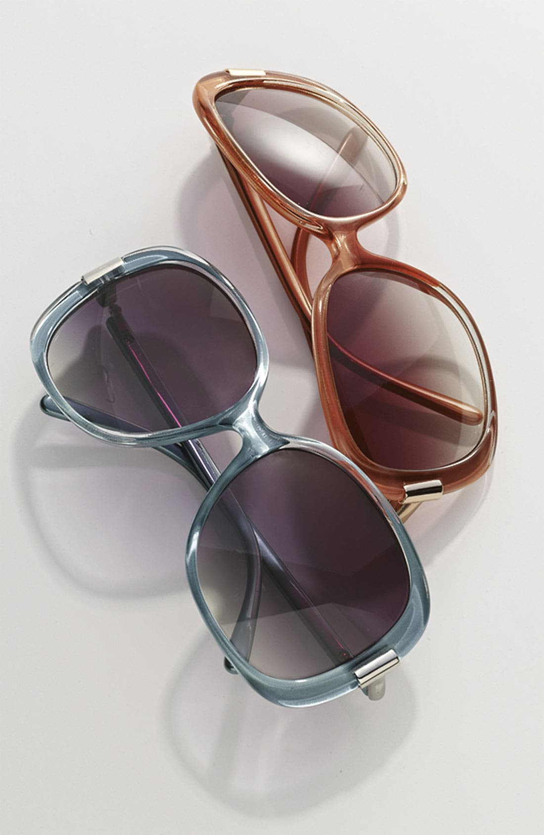 Alternate Image 2  - Halogen Oversized 57mm Sunglasses