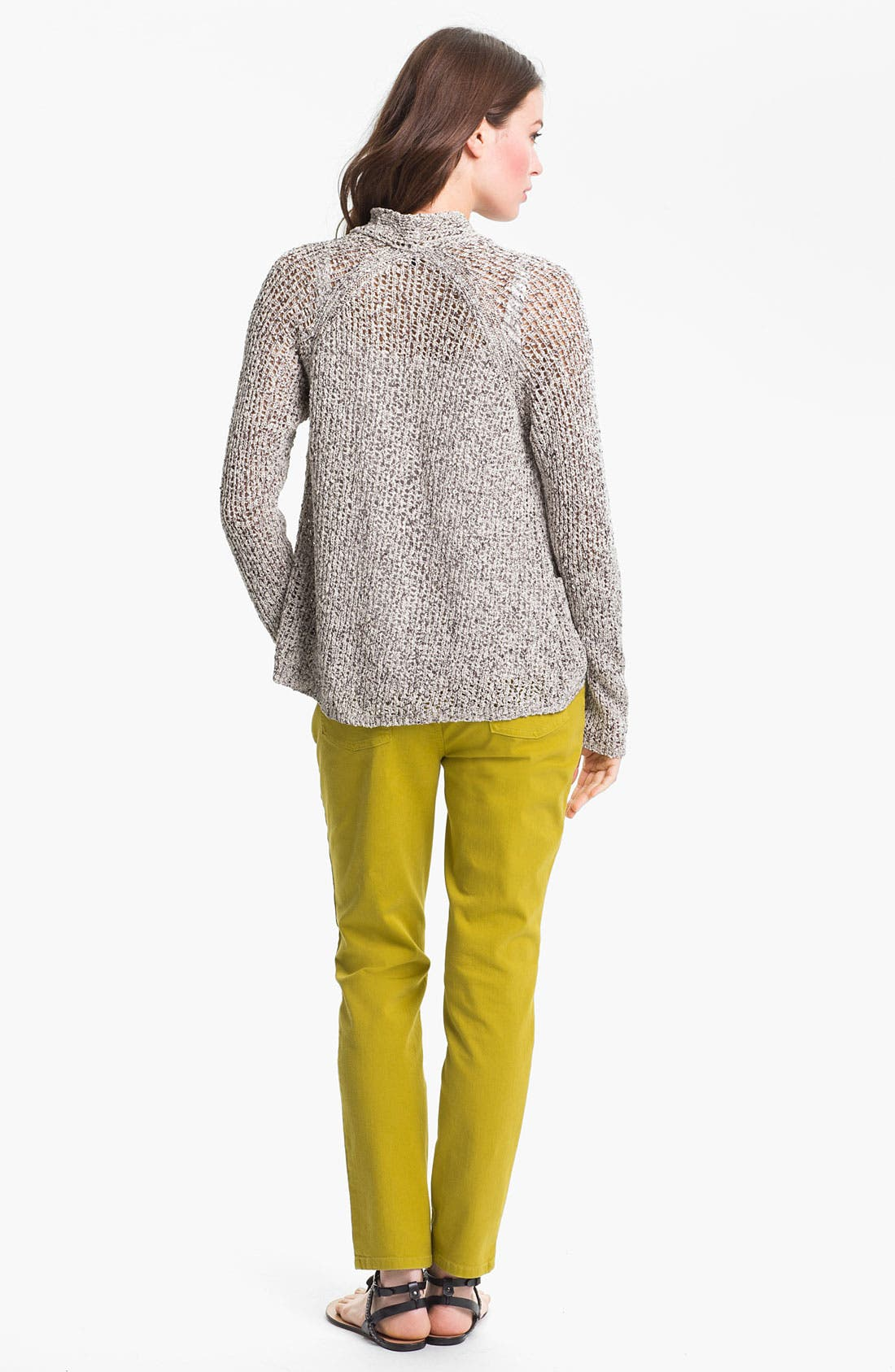 Alternate Image 5  - Eileen Fisher Raglan Sleeve Cardigan