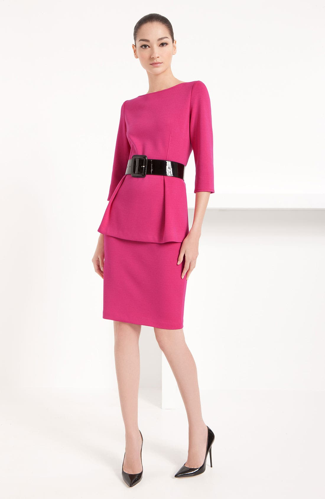 Alternate Image 5  - St. John Collection Milano Knit Pencil Skirt