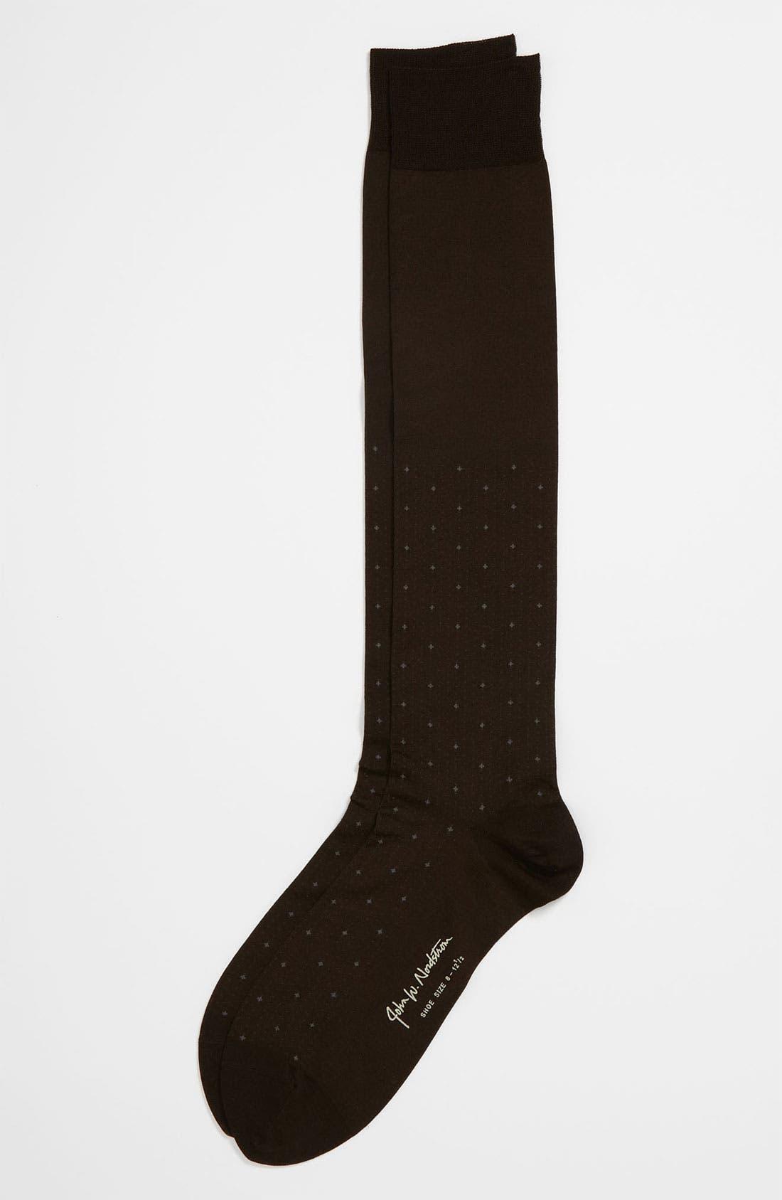 Alternate Image 1 Selected - John W. Nordstrom® Over the Calf Socks