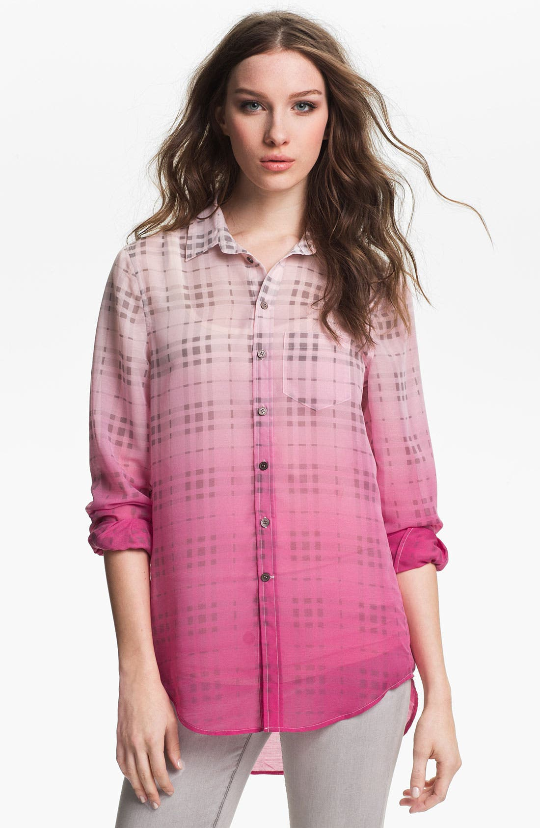Alternate Image 1 Selected - Two by Vince Camuto Boyfriend Shirt