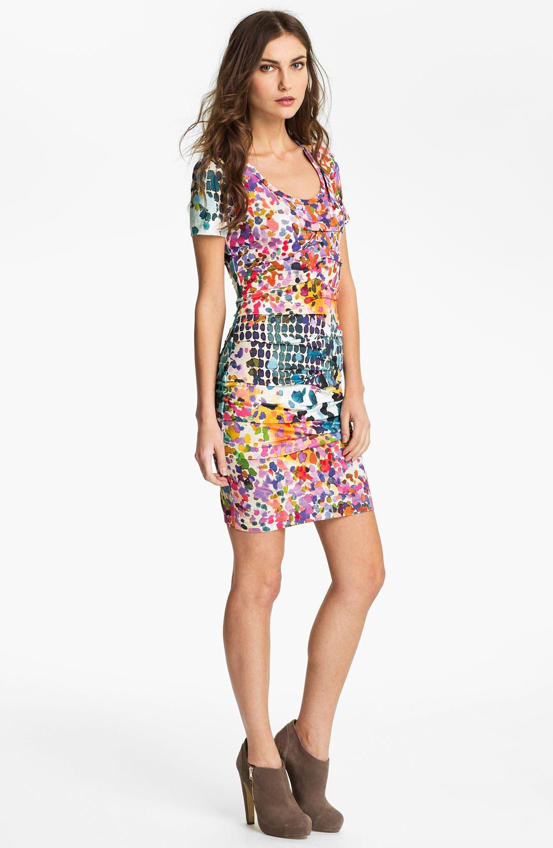 Main Image - Nicole Miller 'In the Sun' Jersey Sheath Dress