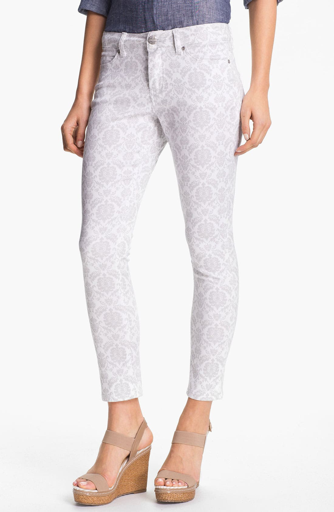 Alternate Image 1 Selected - Liverpool Jeans Company 'Abby' Skinny Print Ankle Jeans