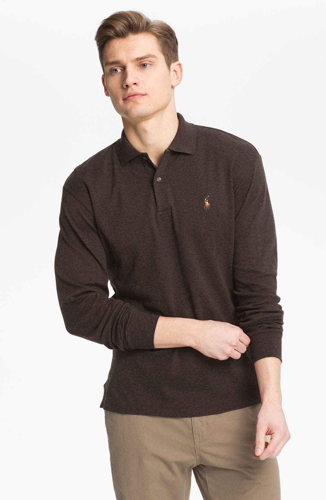 Main Image - Polo Ralph Lauren Regular Fit Polo