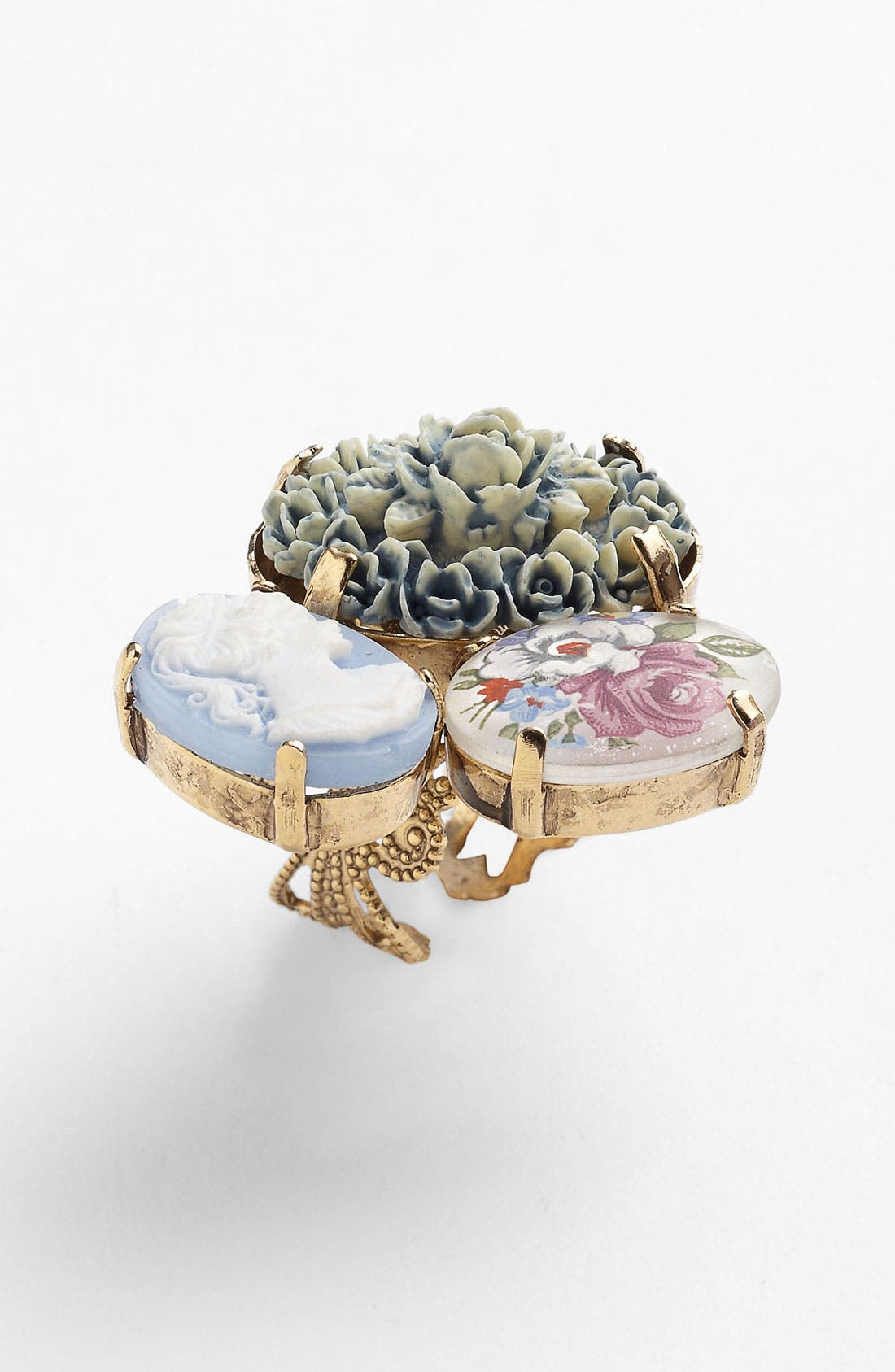 Alternate Image 1 Selected - Bonnie Jonas Floral Cameo Ring