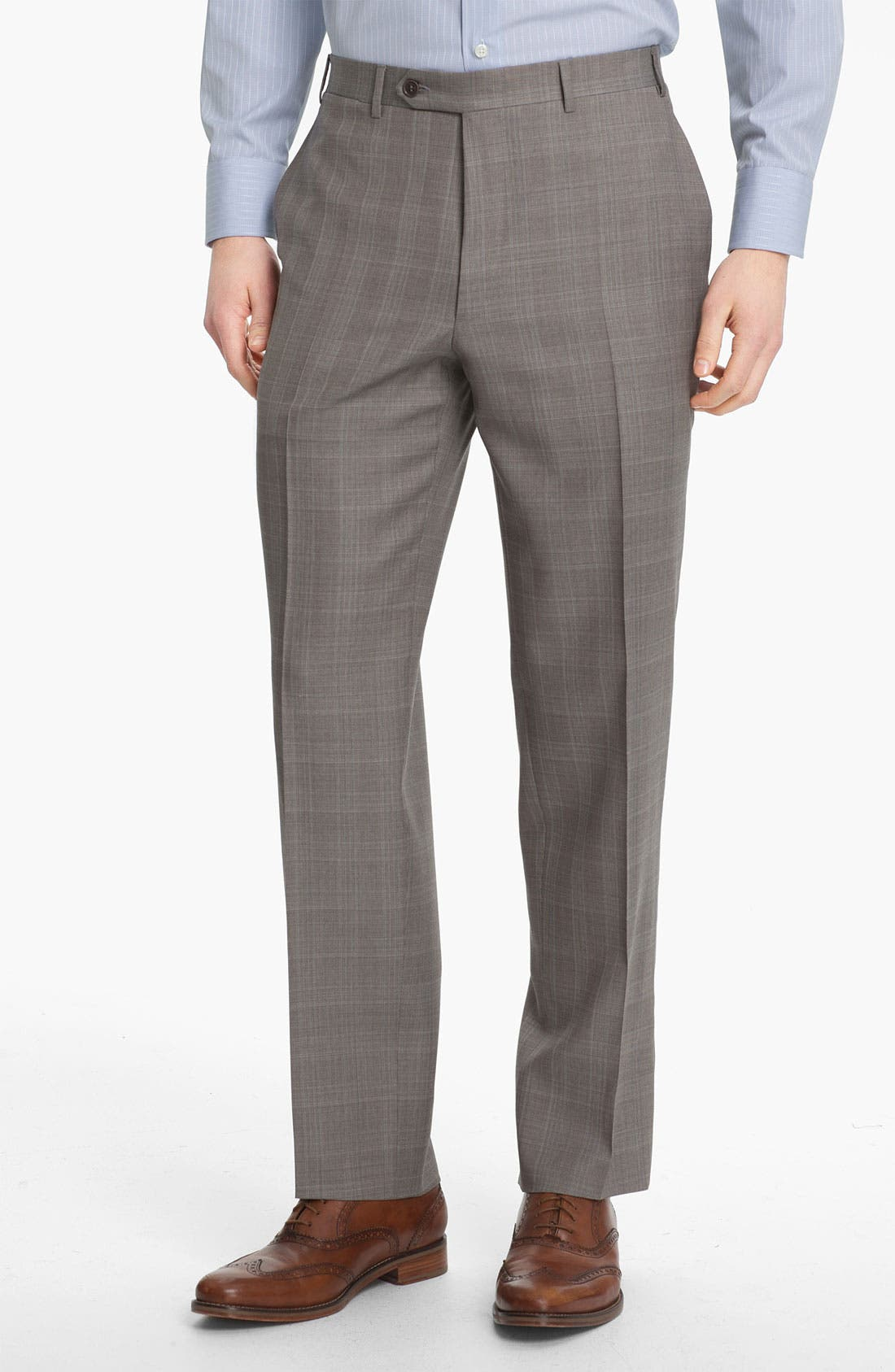 Alternate Image 5  - Canali Plaid Wool Suit