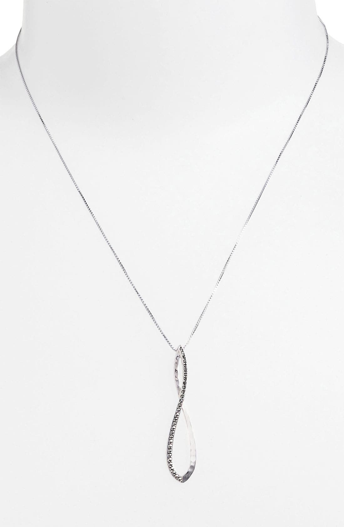 Alternate Image 1 Selected - Judith Jack 'Fluidity' Pendant Necklace