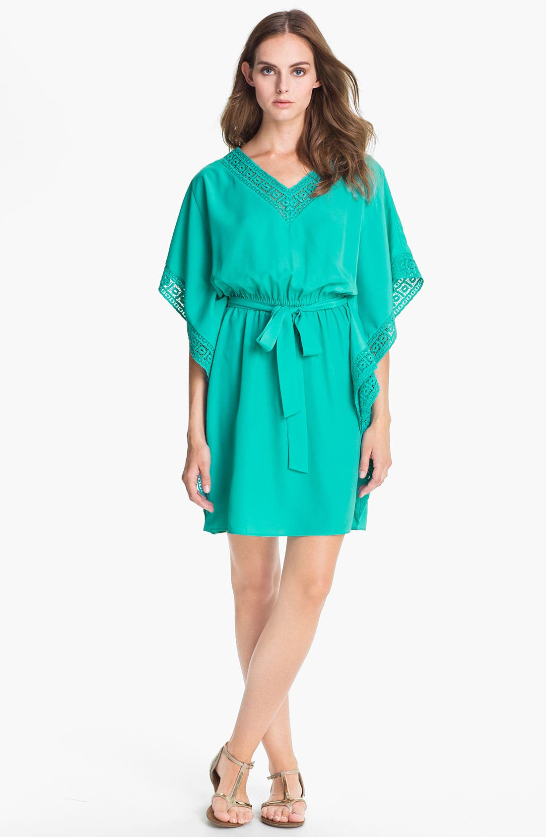 Main Image - Suzi Chin for Maggy Boutique Batwing Blouson Dress