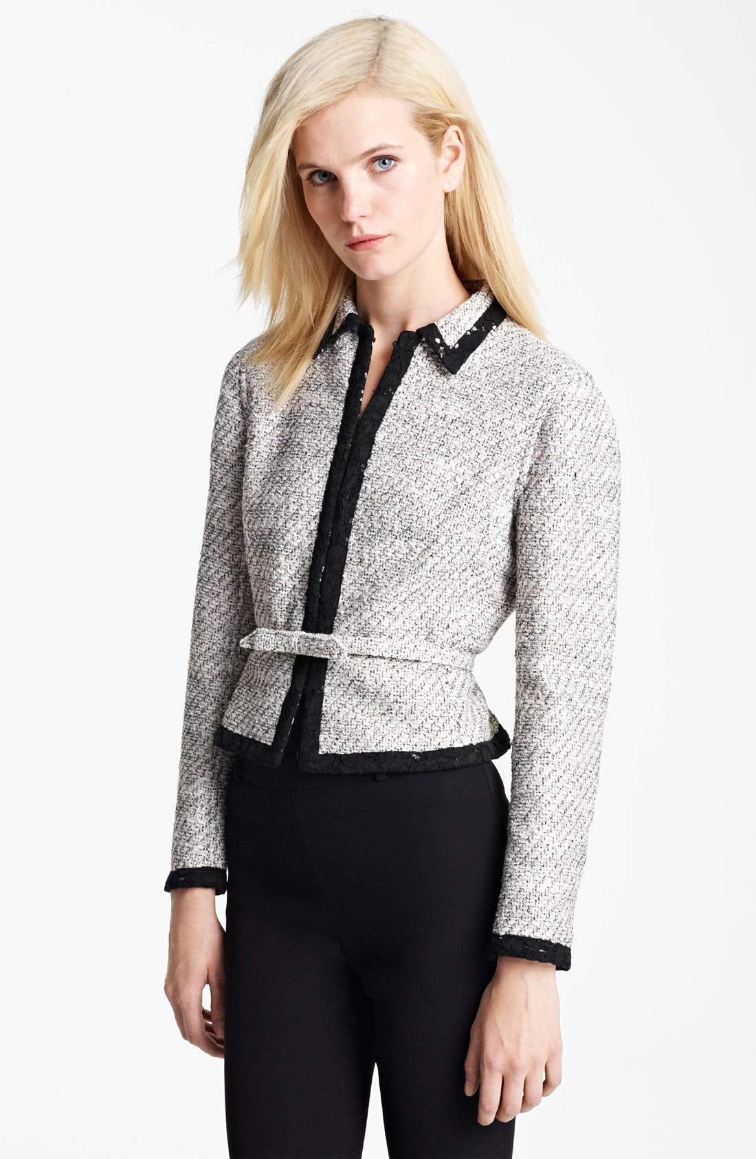 Alternate Image 1 Selected - Valentino Belted Reversible Jacket
