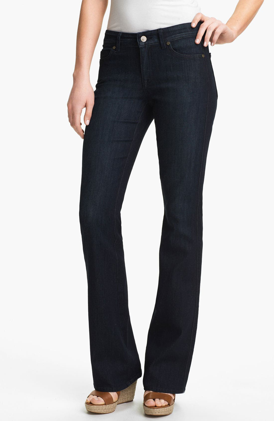 Main Image - CJ by Cookie Johnson 'Grace' Bootcut Stretch Jeans