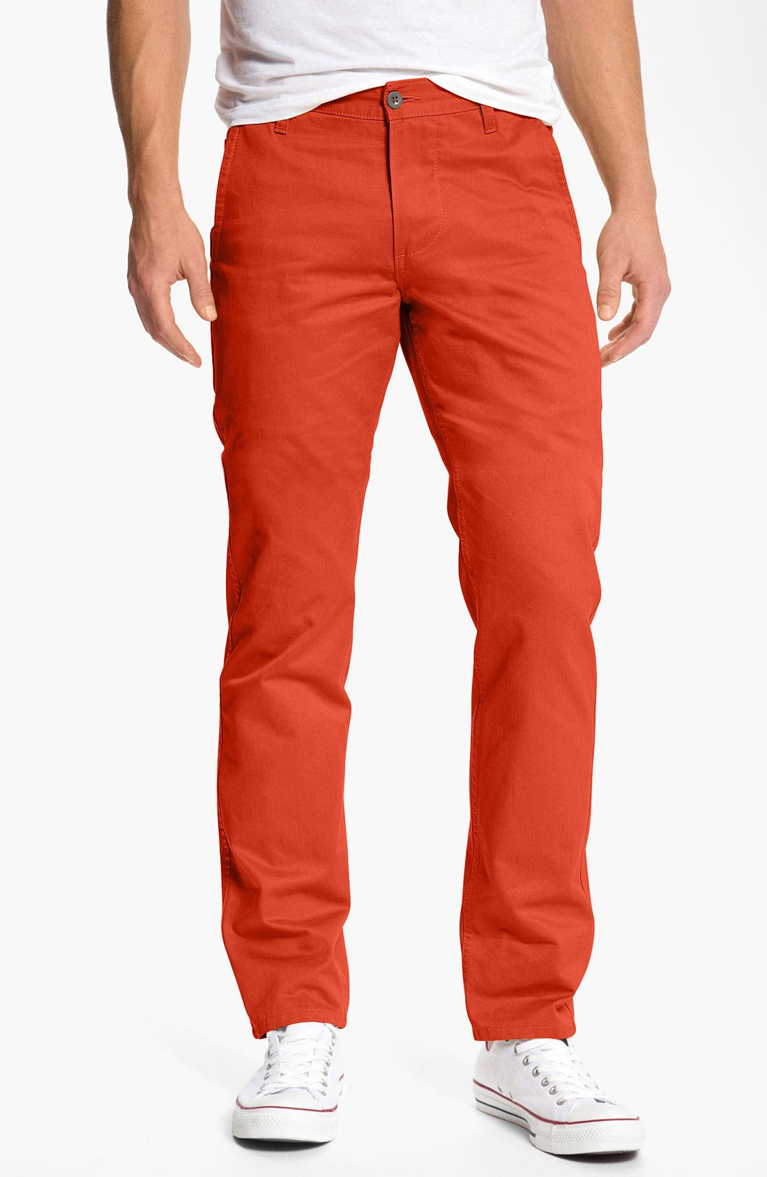 Alternate Image 1 Selected - Dockers® 'Alpha Khaki' Slim Straight Leg Chinos