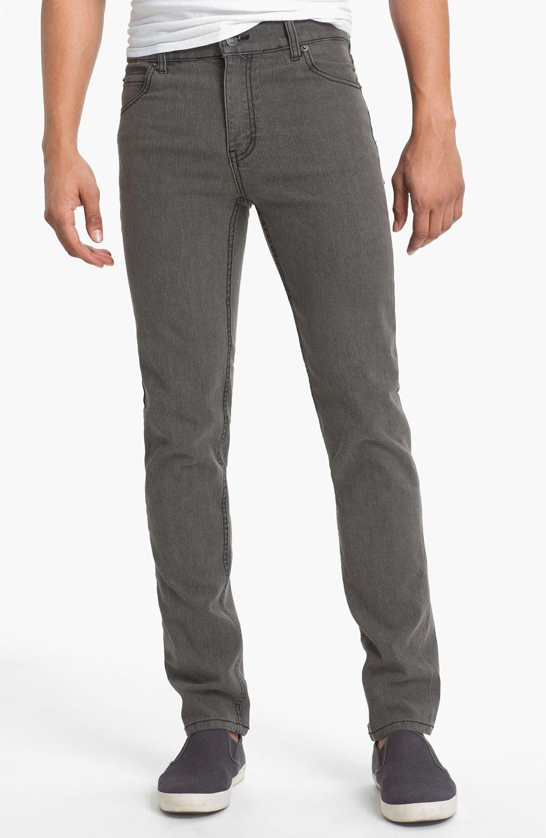 Alternate Image 2  - Cheap Monday Tight Skinny Leg Jeans (45-Minute Stonewash)