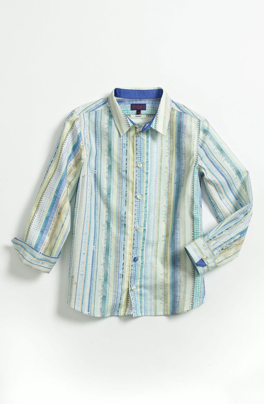 Alternate Image 1 Selected - Paul Smith Junior Dress Shirt (Little Boys & Big Boys)