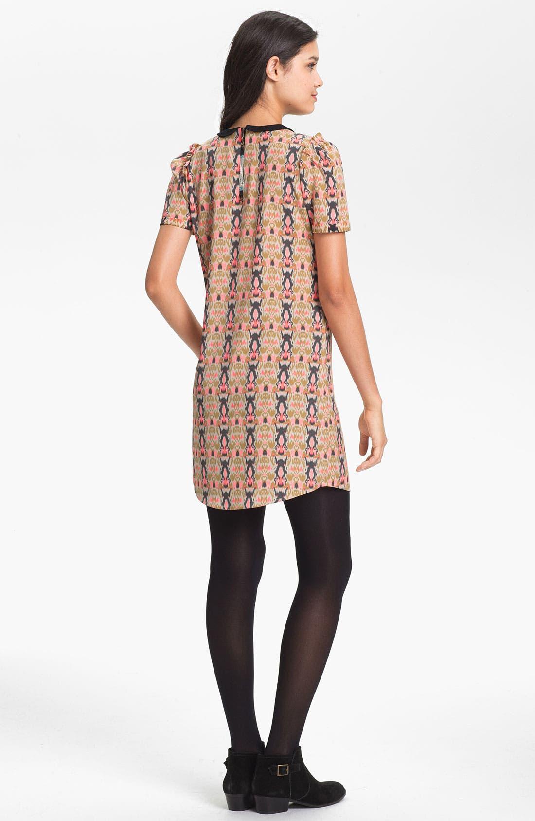 Alternate Image 2  - Maison Scotch Ikat Shift Dress