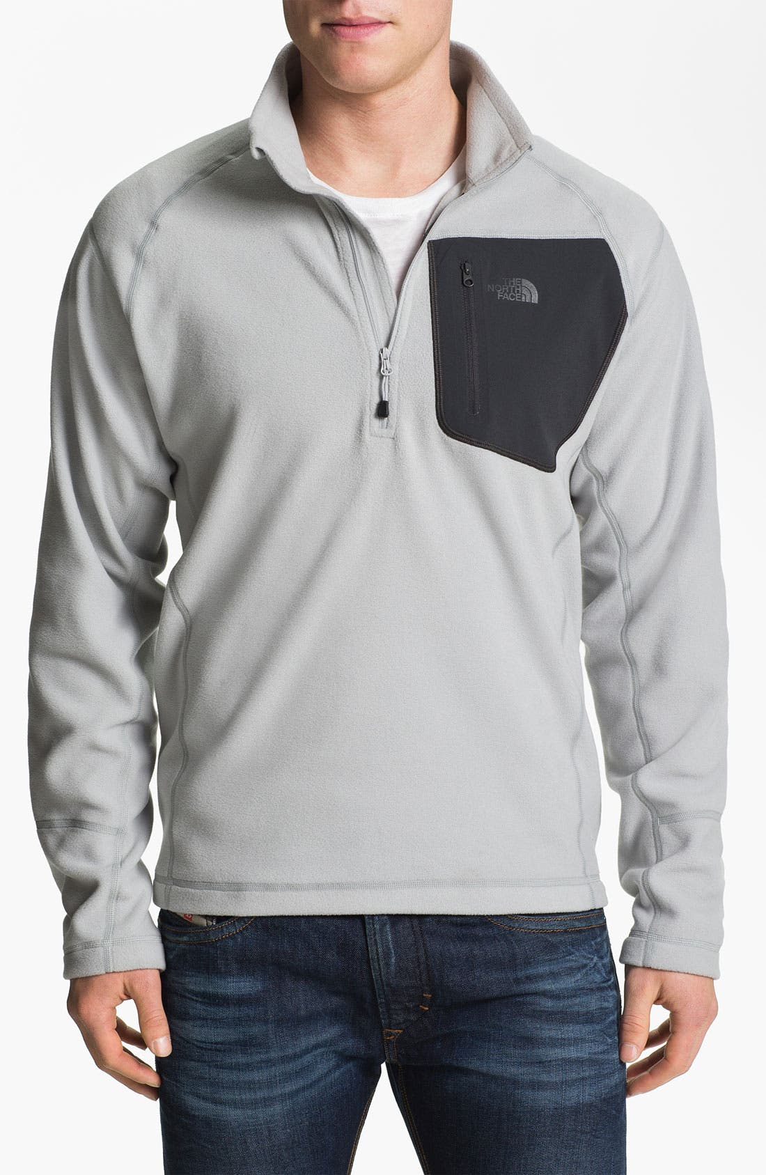 Alternate Image 1 Selected - The North Face 'TKA 100 Trinity Alps' Fleece Quarter Zip Pullover