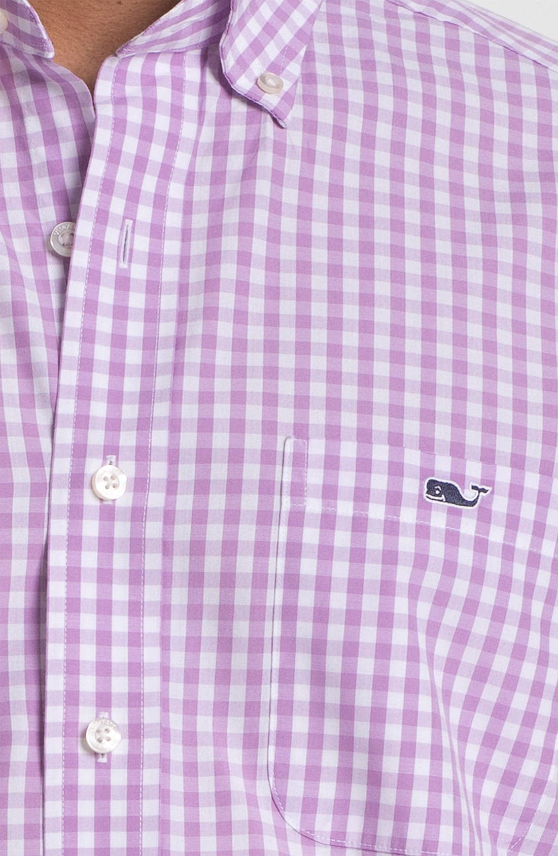 Alternate Image 3  - Vineyard Vines 'Sandy Point - Tucker' Sport Shirt