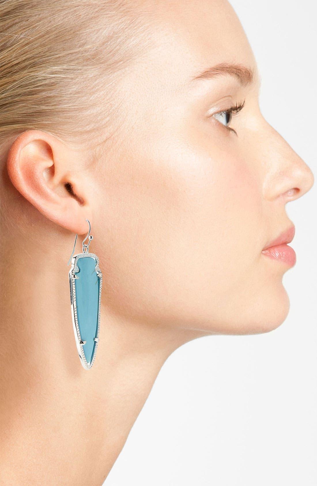 Alternate Image 2  - Kendra Scott 'Skylar Spear' Statement Earrings