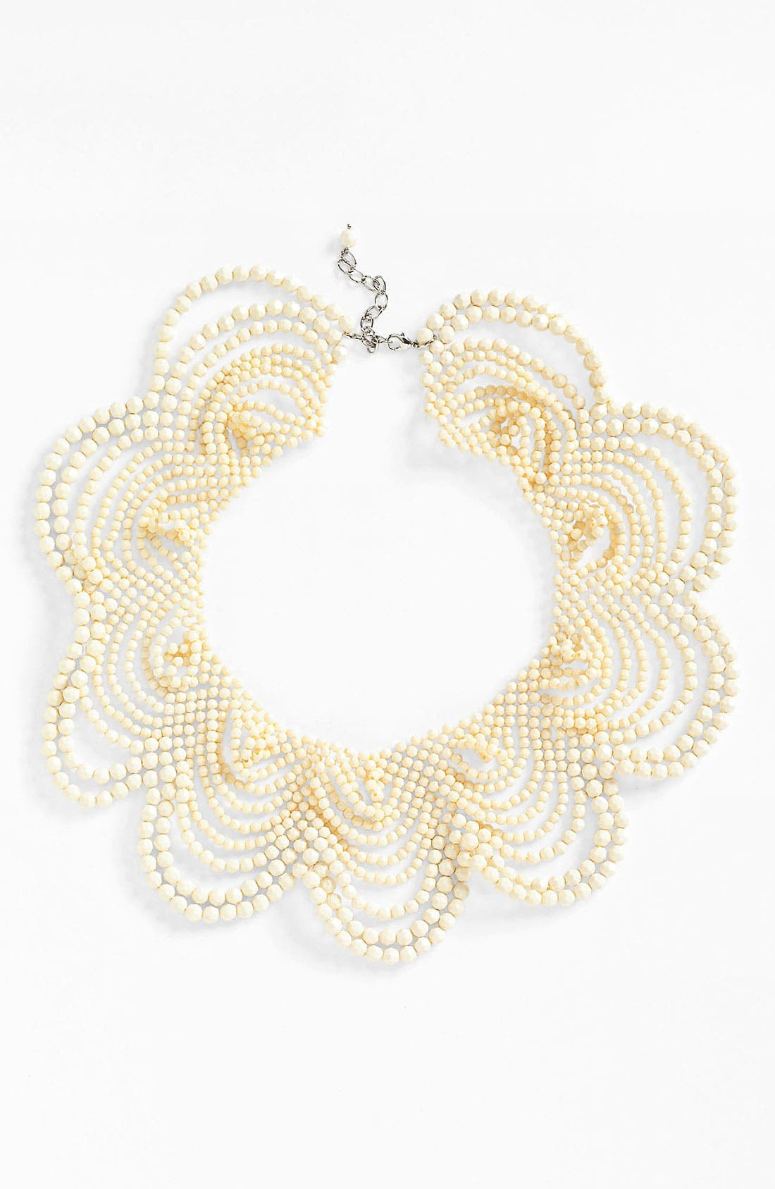 Alternate Image 1 Selected - Natasha Couture Beaded Collar Necklace