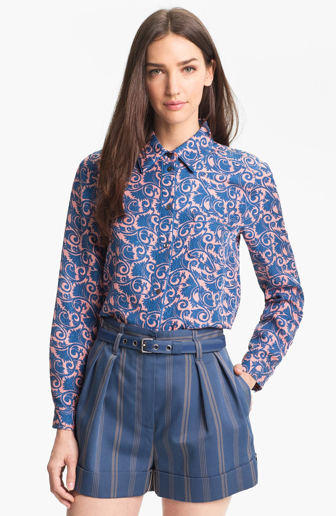 Main Image - MARC BY MARC JACOBS 'Tootsie Flower' Silk Top