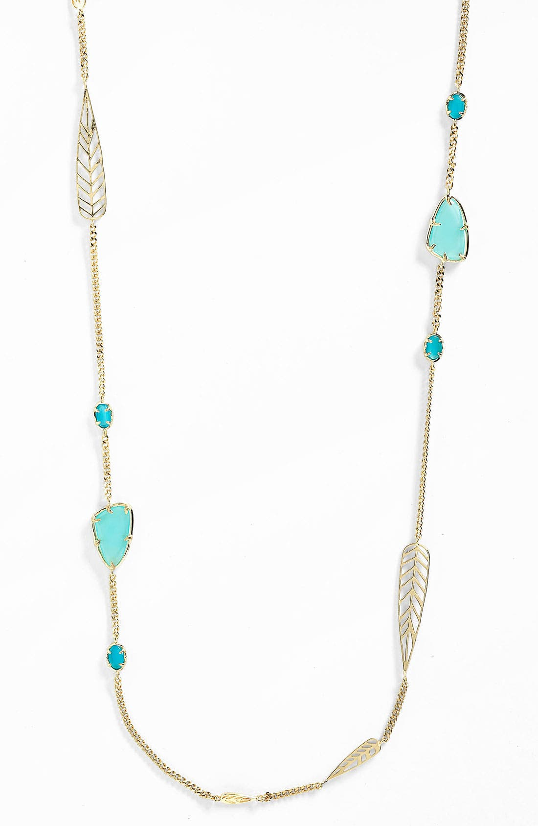 Alternate Image 1 Selected - Kendra Scott 'Marla' Extra Long Station Necklace