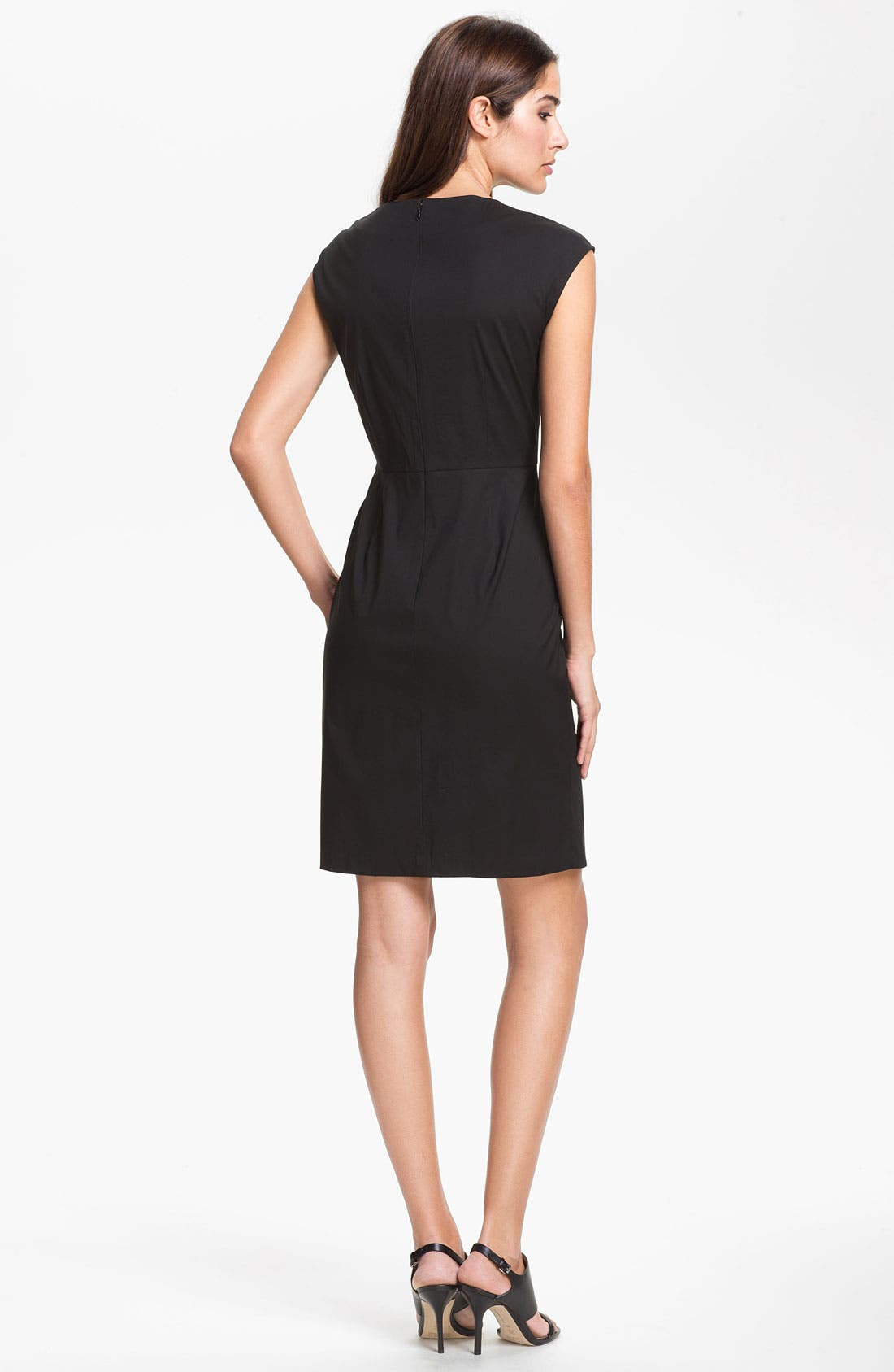Alternate Image 2  - Lafayette 148 New York 'Elsa - Italian' Stretch Dress (Online Exclusive)