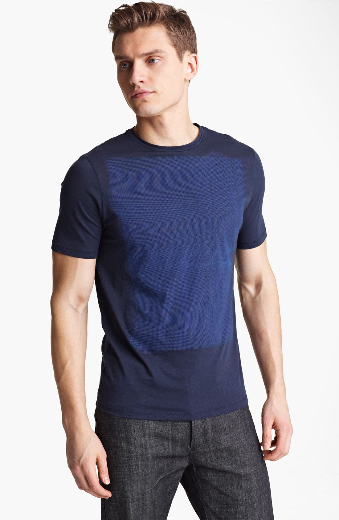 Alternate Image 1 Selected - Z Zegna Print Graphic T-Shirt